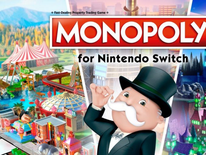 Release - Monopoly for Nintendo Switch