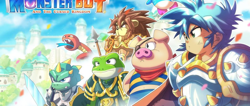 Monster Boy And The Cursed Kingdom E3 2018Trailer