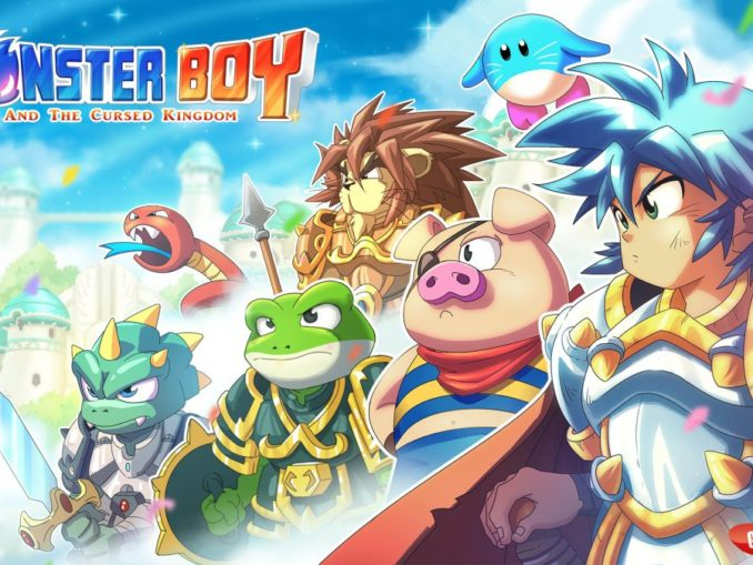 Nieuws - Monster Boy And The Cursed Kingdom E3 2018Trailer