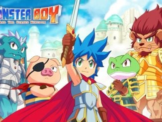 Monster Boy – Verander je UI via je Nintendo Switch Lite-kleur