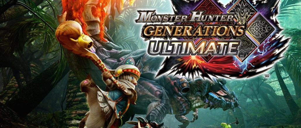 Monster Hunter Generations – 3.2 miljoen exemplaren op Nintendo systemen