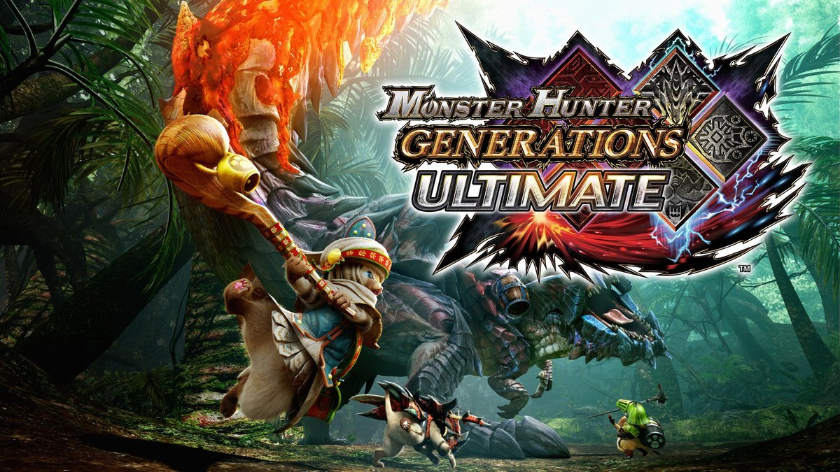 Monster Hunter Generations – 3.2 Million Units sold on Nintendo Systems