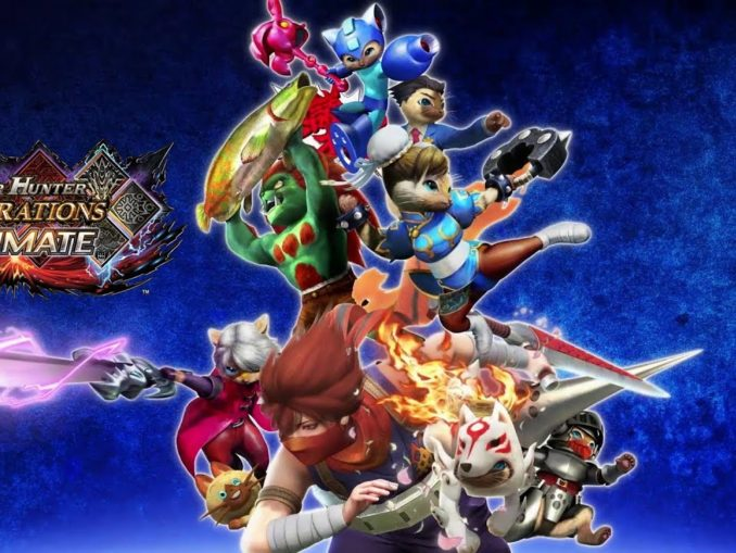 News - Monster Hunter Generations Ultimate + Capcom Crossovers