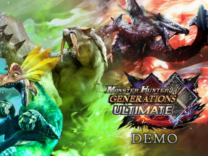 Nieuws - Monster Hunter Generations Ultimate Demo