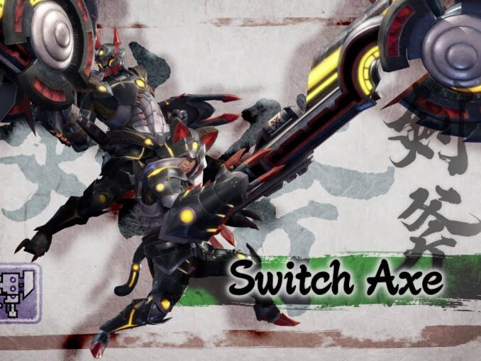 Nieuws - Monster Hunter Rise – Great Sword en Switch Axe wapen trailers