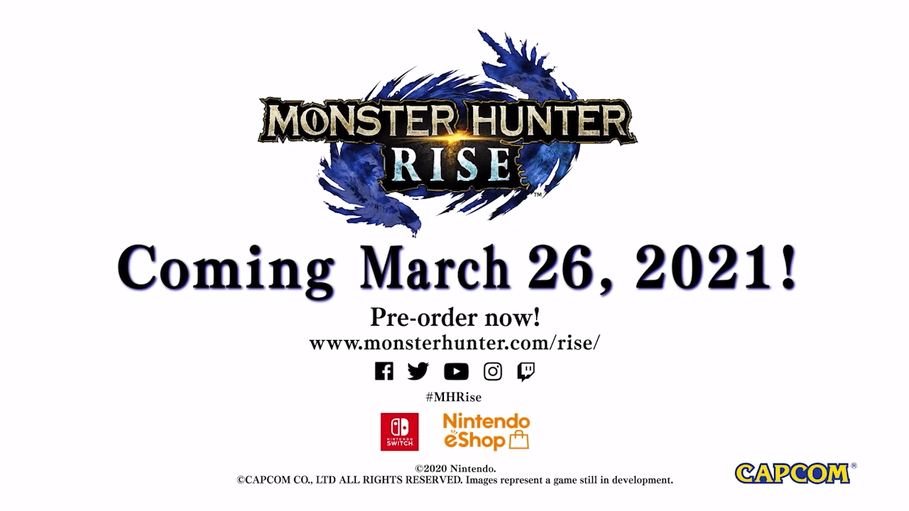 Monster Hunter Rise – Great Sword Gameplay Footage