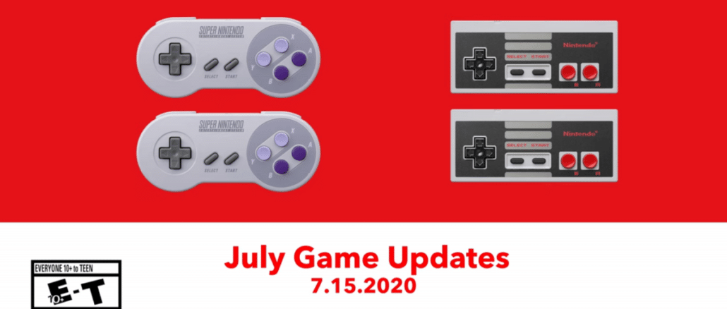 More NES & SNES Switch Online titles coming July15th