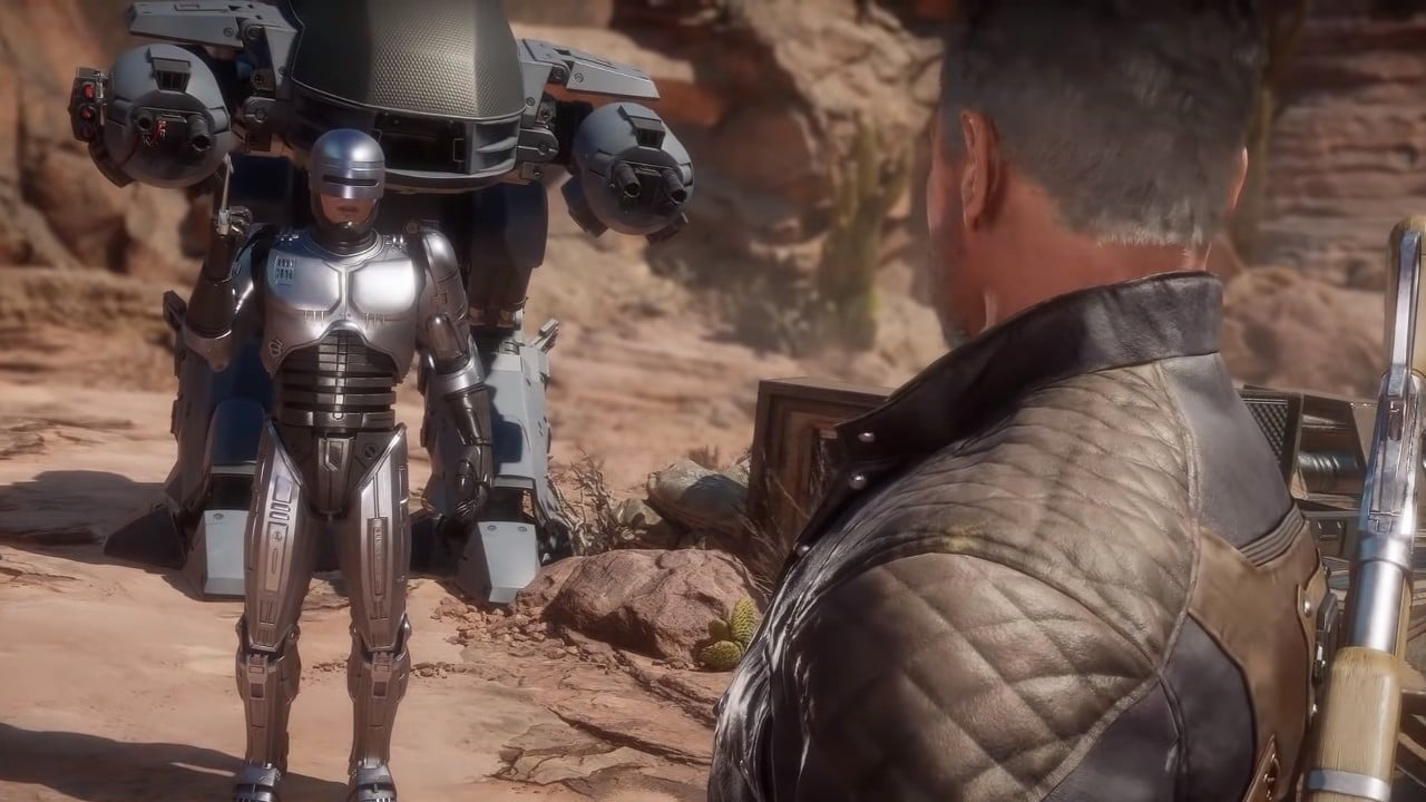 Mortal Kombat 11 Aftermath New Trailer Robocop Vs Terminator