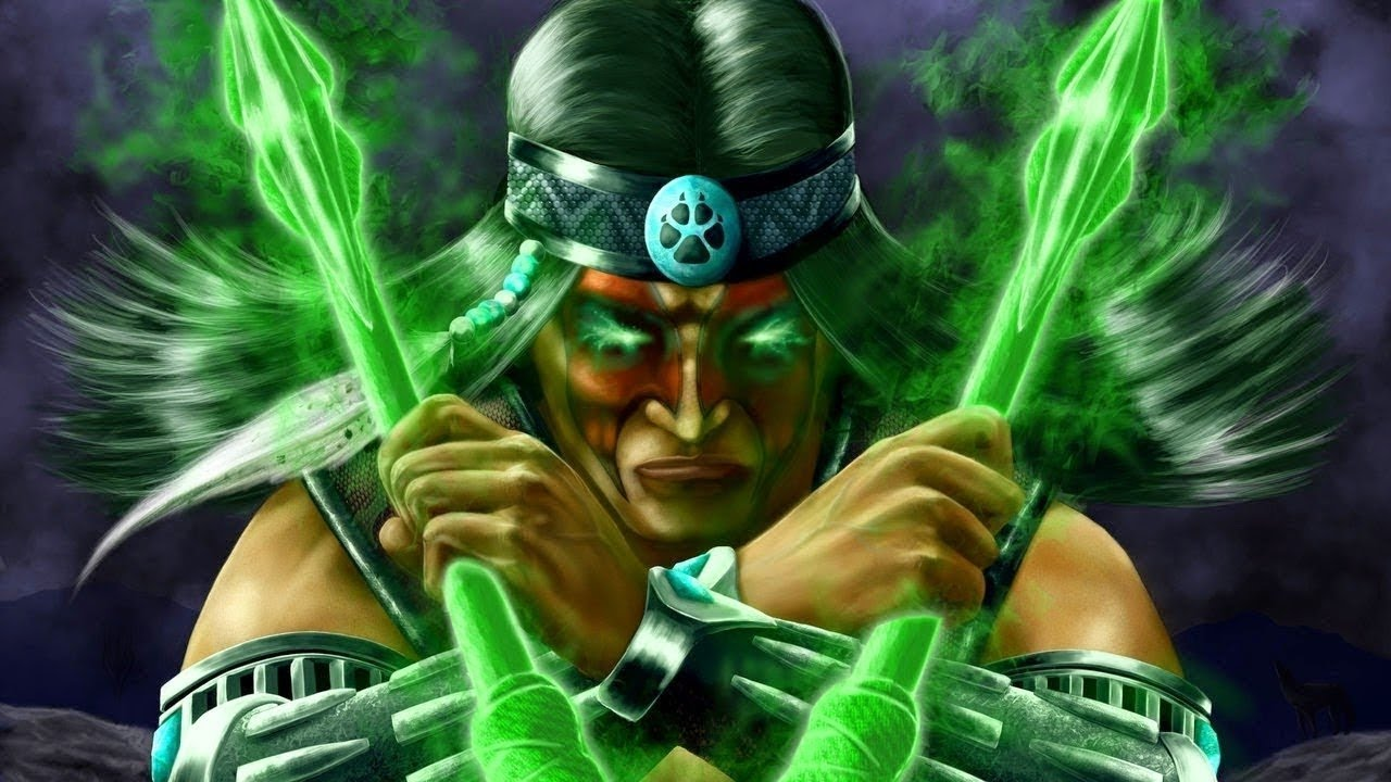 Mortal Kombat 11 – Nightwolf DLC footage