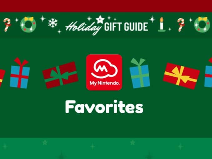 News - Most Wished Gifts in 2018 by My Nintendo members