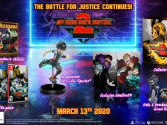 My Hero One's Justice 2 – Collector's Edition announced