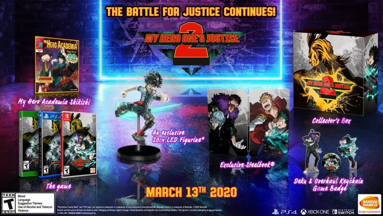 My Hero One's Justice 2 – Collector's Edition aangekondigd