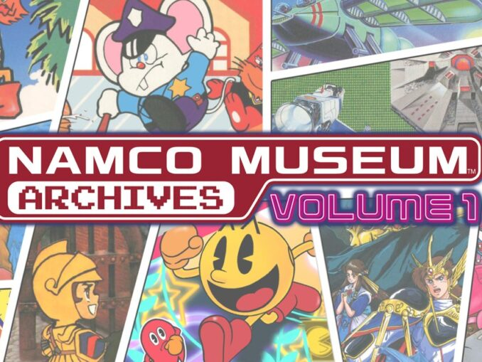Release - NAMCO MUSEUM ARCHIVES Volume 1
