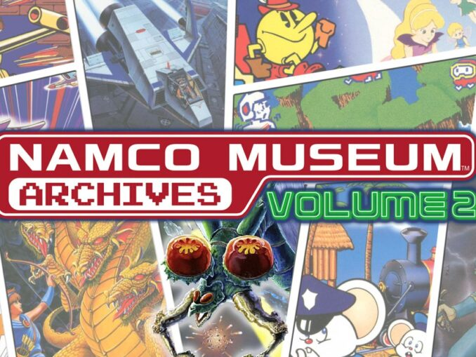 Release - NAMCO MUSEUM ARCHIVES Volume 2