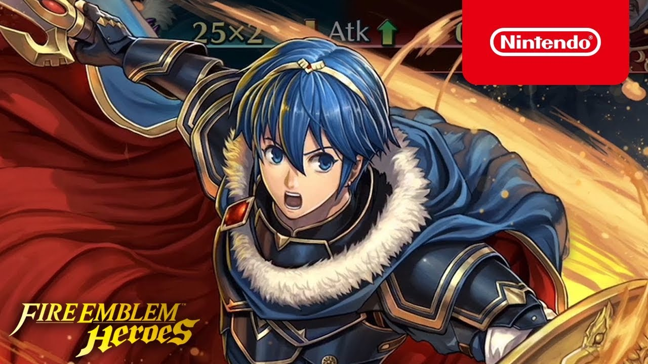 New Fire Emblem Heroes Trailer – Legendary Hero King Marth