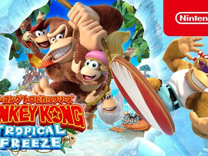 News - Nieuwe Japanse Donkey Kong Country: Tropical Freeze commercials