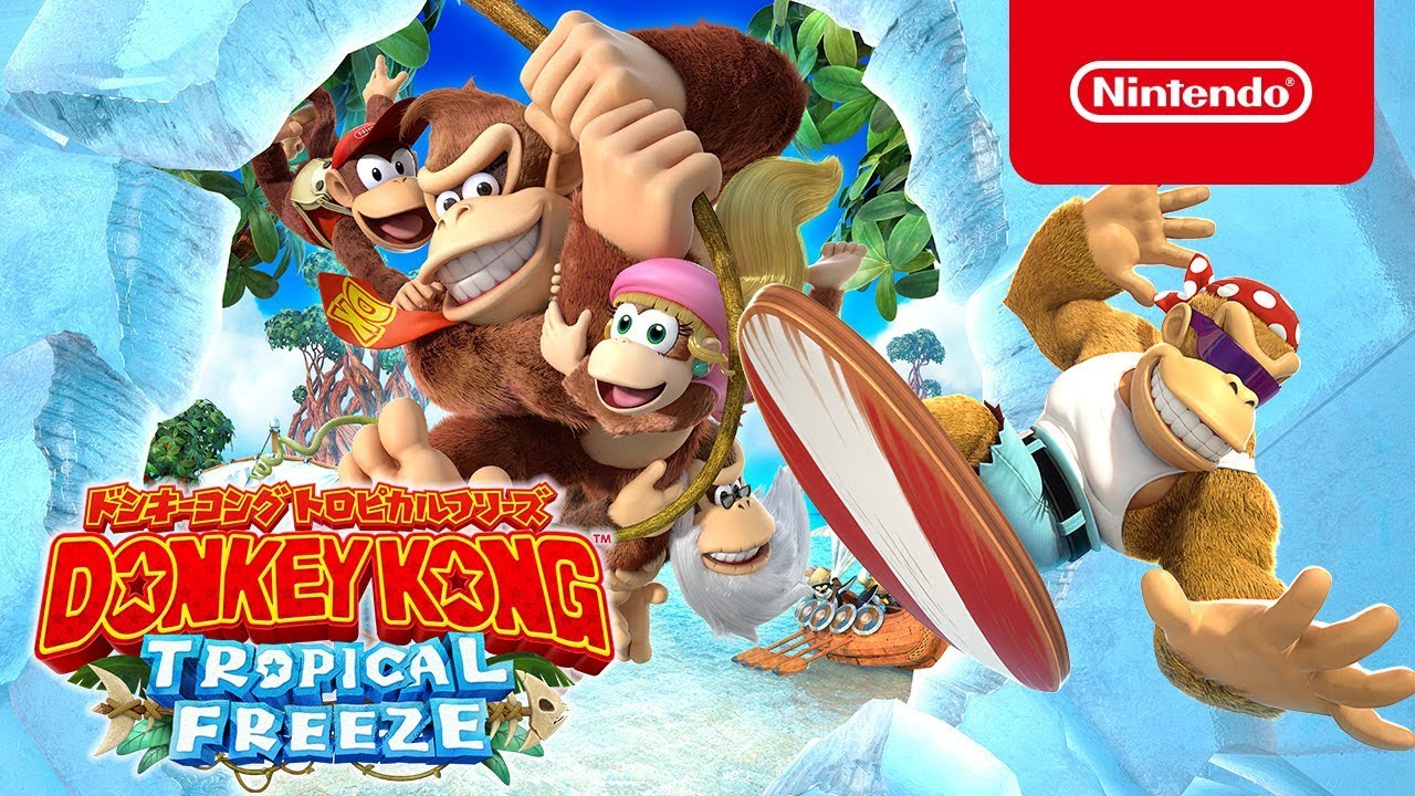 Nieuwe Japanse Donkey Kong Country: Tropical Freezecommercials