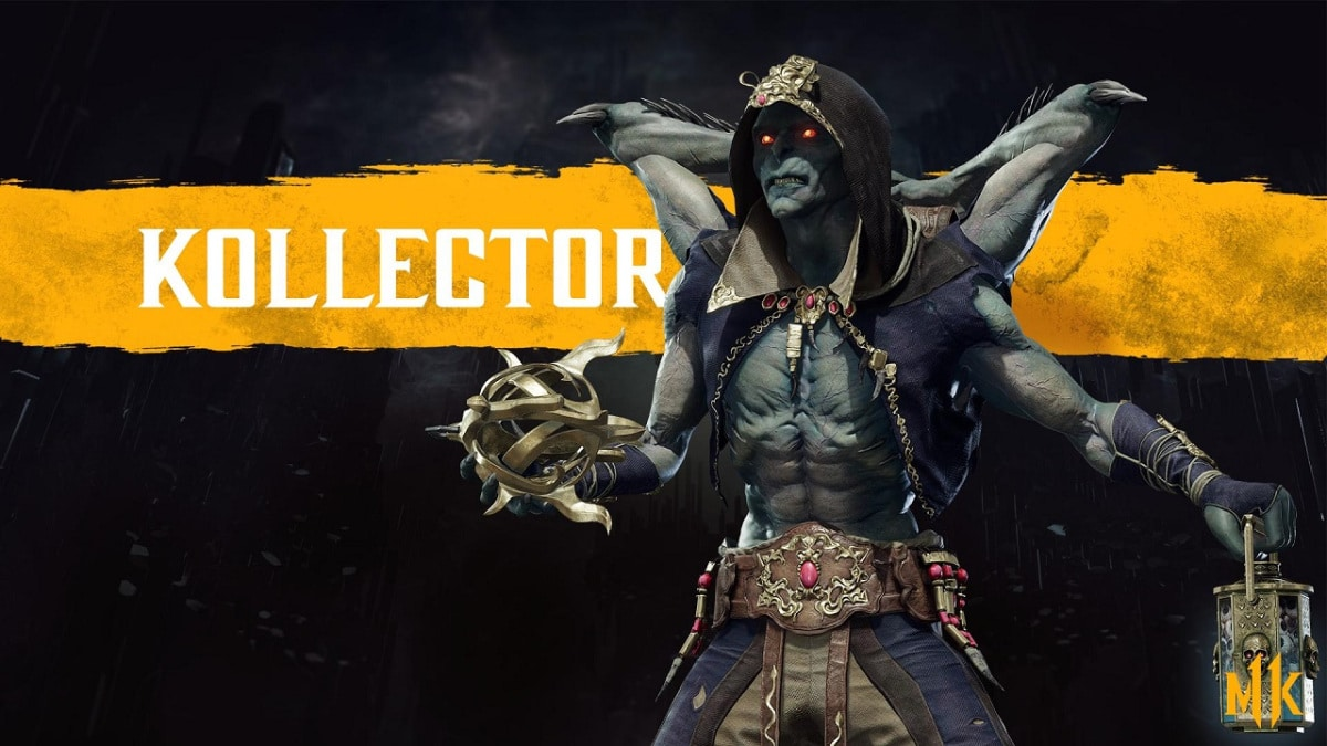 Kollector announced for Mortal Kombat 11