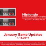 New NES Nintendo Switch Online game updates trailer January