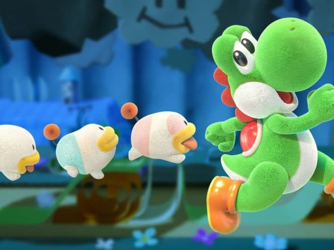 Nieuws - Nieuwe Overview Trailer – Yoshi's Crafted World