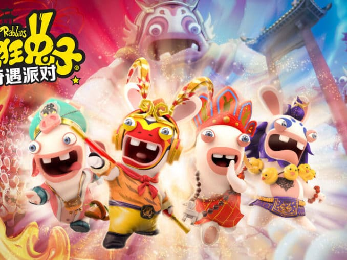 Nieuws - Nieuwe Rabbids Party Game aangekondigd in China