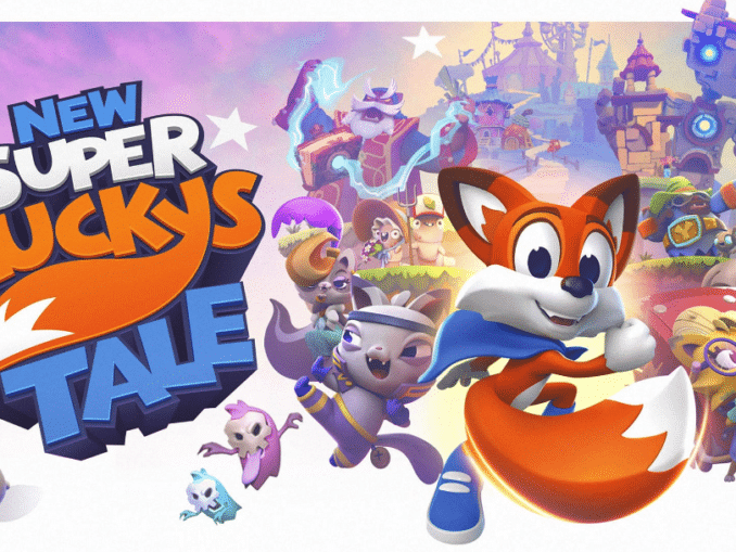 Nieuws - New Super Lucky's Tale – Accolades trailer