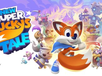 New Super Lucky's Tale launches November 8th