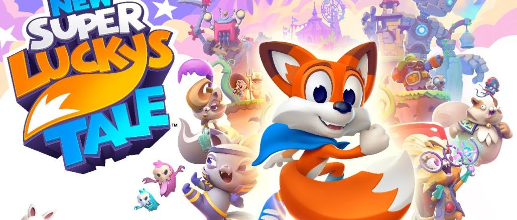 New Super Lucky's Tale – Physical confirmed for Europe