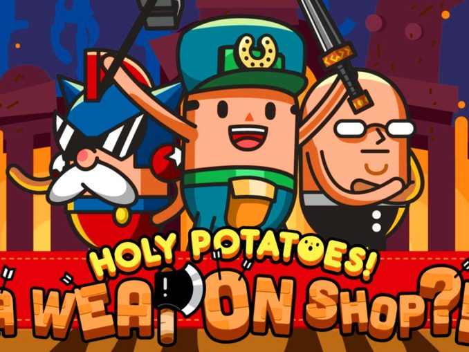 Nieuws - Nieuwe trailer Holy Potatoes! A Weapon Shop?!