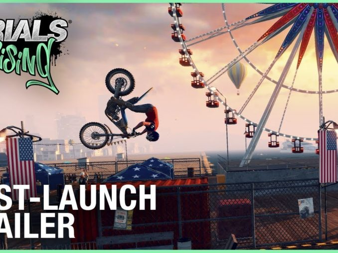 Nieuws - New Trials Rising Trailer – Post-Launch DLC