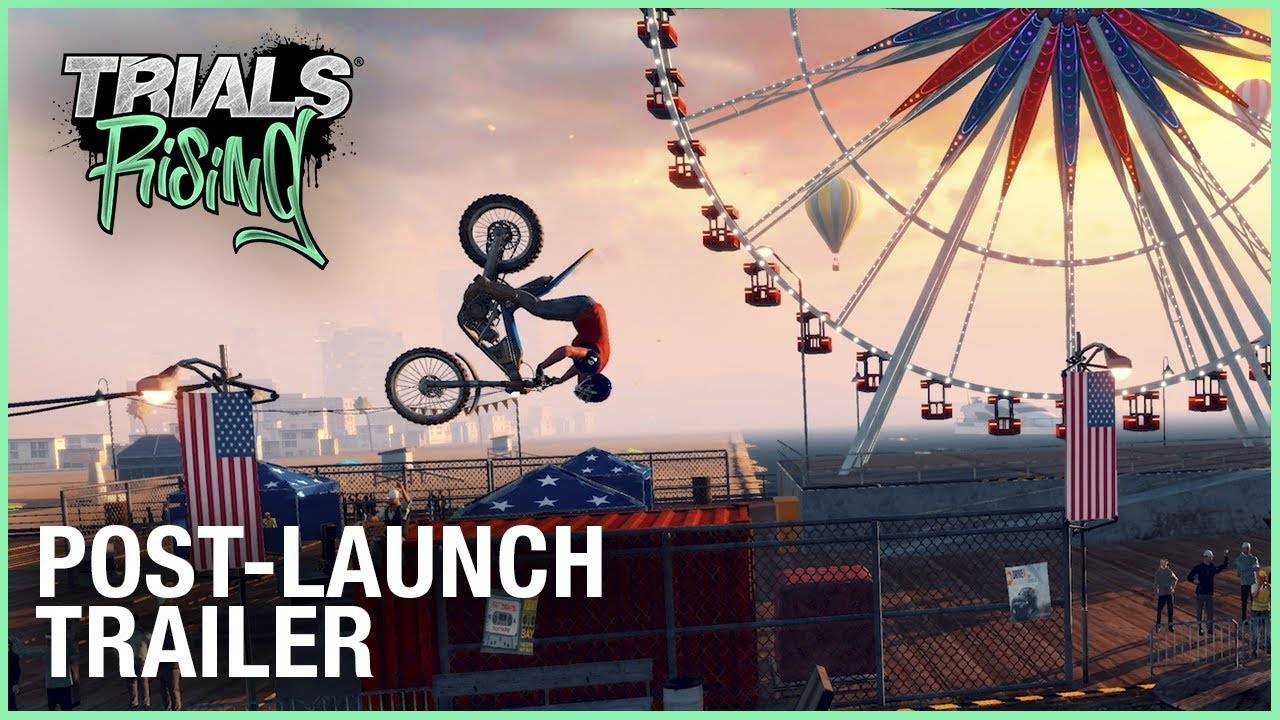 New Trials Rising Trailer – Post-Launch DLC