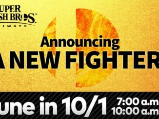 Next Super Smash Bros. Ultimate DLC Fighter to be announced 1 October 2020
