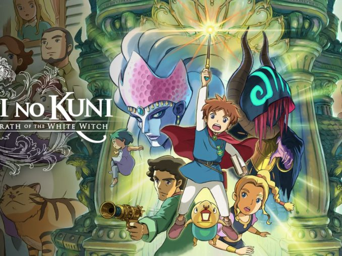 Release - Ni No Kuni Remastered: Wrath of the White Witch