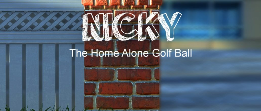 Nicky – The Home Alone Golf Ball