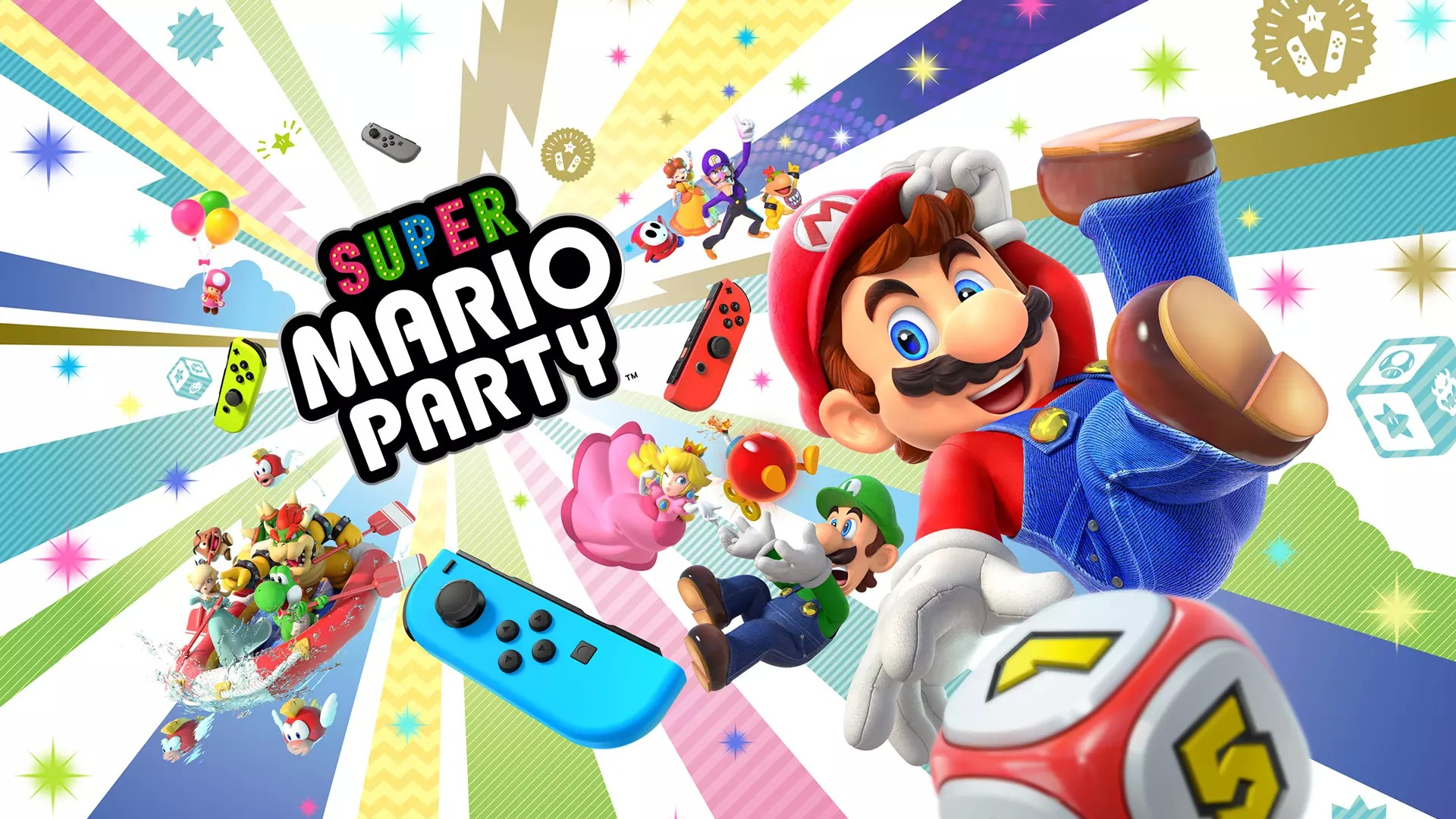 Nieuwe footage Super Mario Party