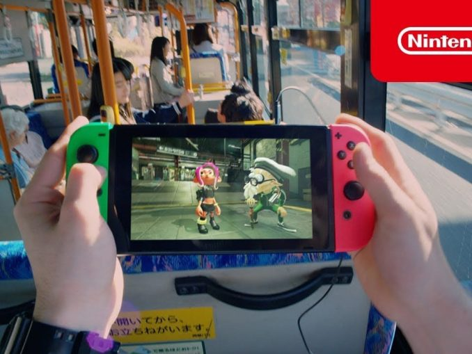 News - Nieuwe Japanse Nintendo Switch commercial!