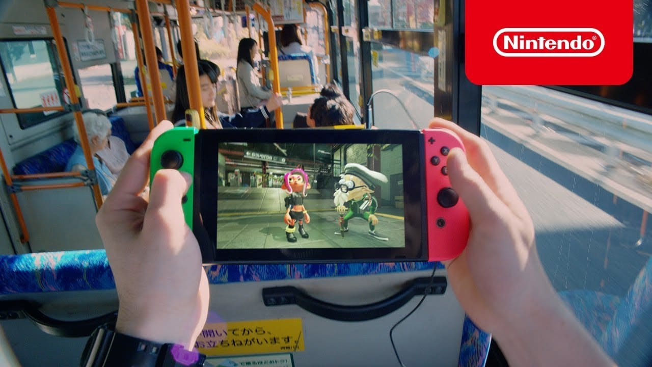 Nieuwe Japanse Nintendo Switch commercial!