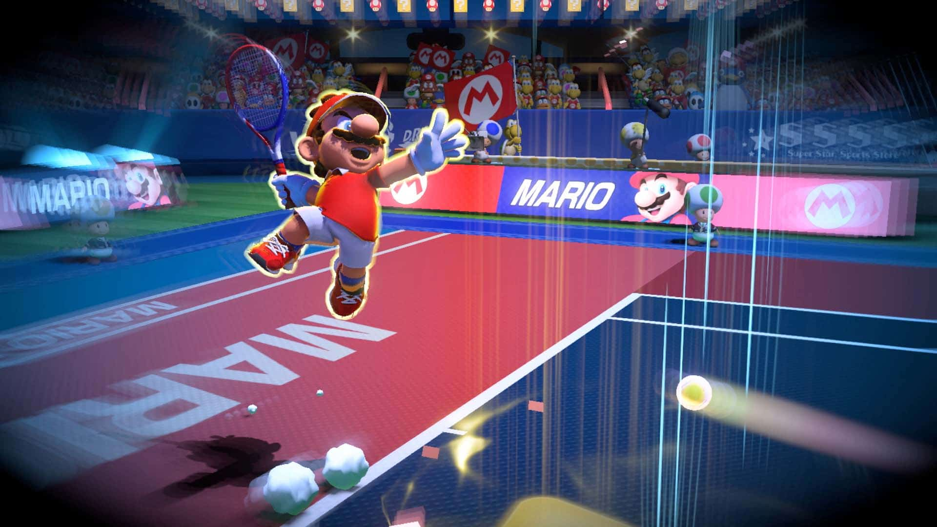 New Mario Tennis Aces Story Mode footage