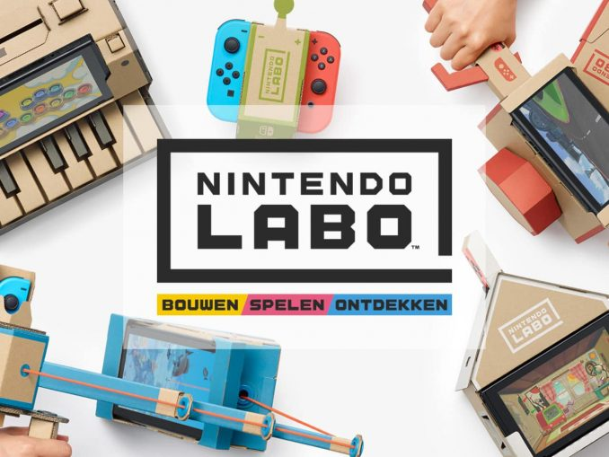 News - New Nintendo Labo trailer