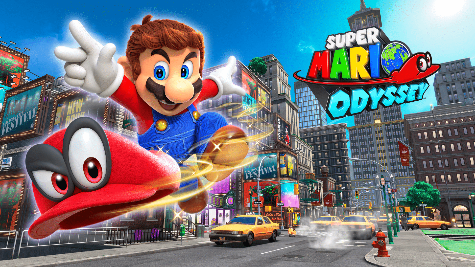 Nieuwe outfits in Super Mario Odyssey