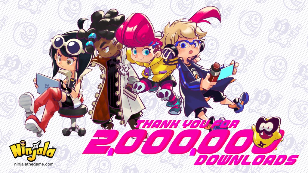 Ninjala – 2 Million Downloads – More Free In-Game Gifts