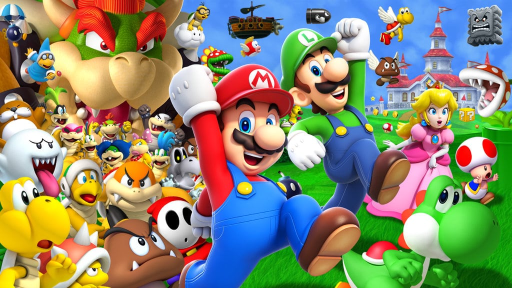 Nintendo applied for Super Mario trademarks