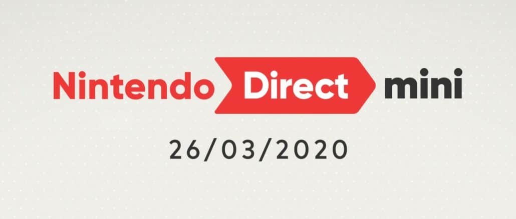 Nintendo Direct Mini 26th March 2020 roundup