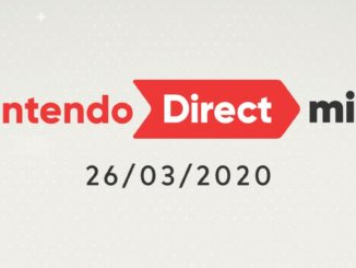 Nintendo Direct Mini 26 Maart 2020 samenvatting