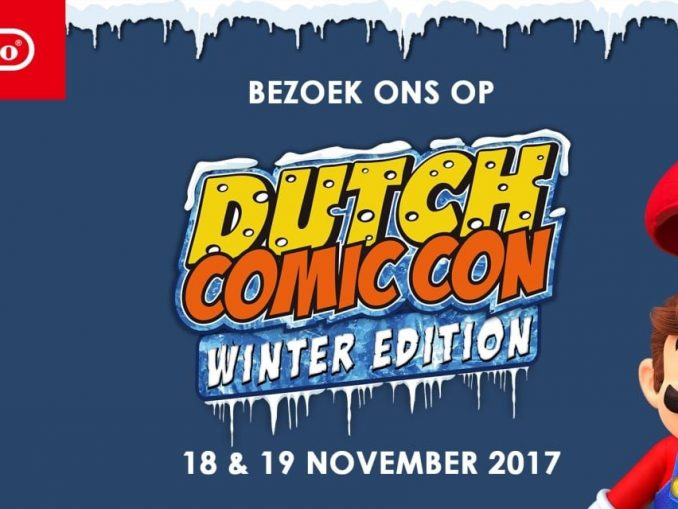 News - Nintendo @ Dutch Comic Con Winter Edition!