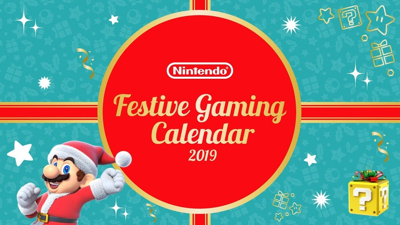 Nintendo festive advent calendar 2019