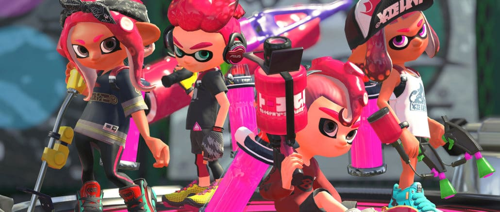 Nintendo gives another look at Splatoon 2's OctoExpansion