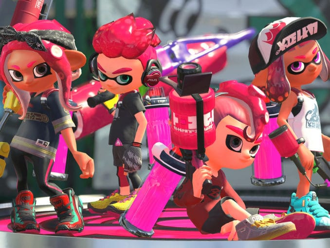 News - Nintendo gives another look at Splatoon 2's Octo Expansion