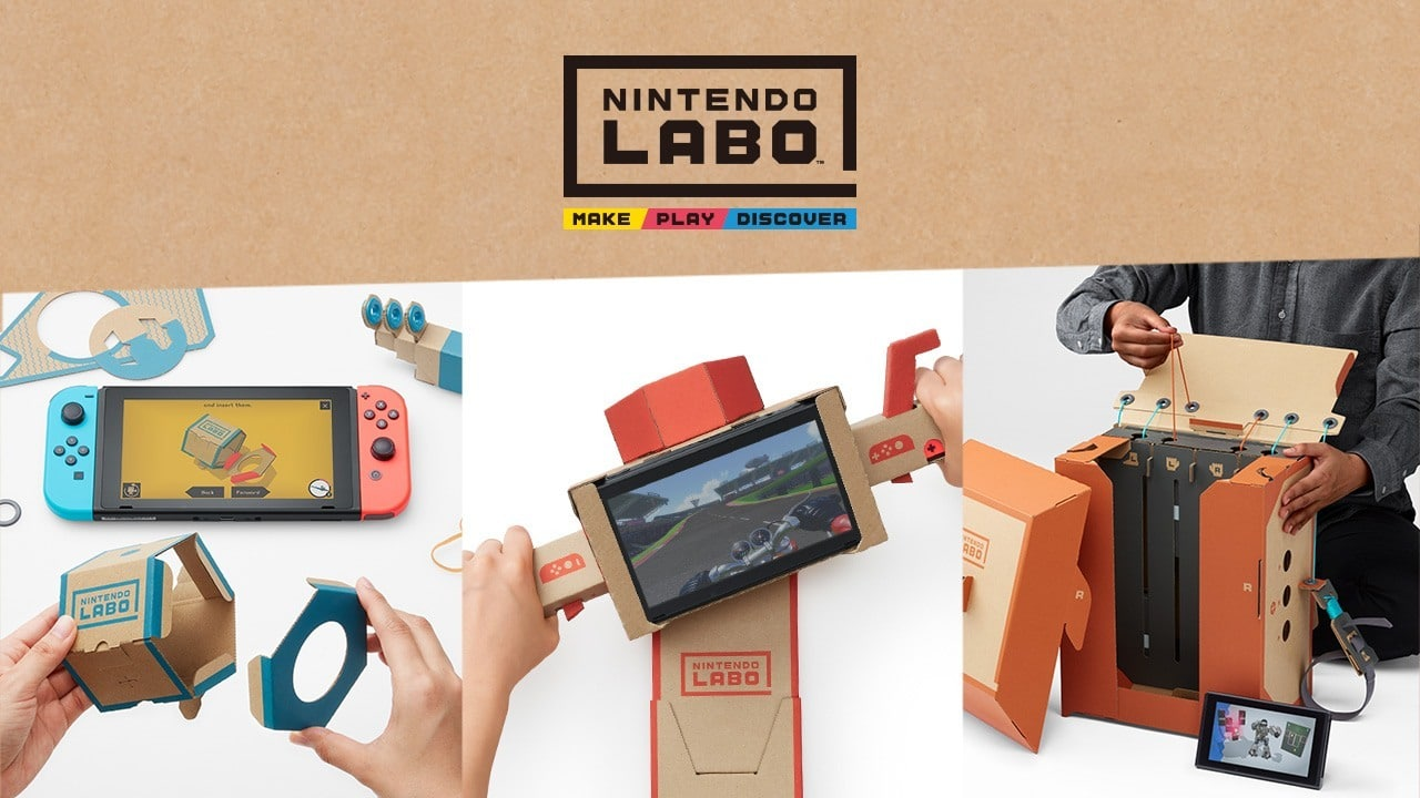 Nintendo Labo sales will improve