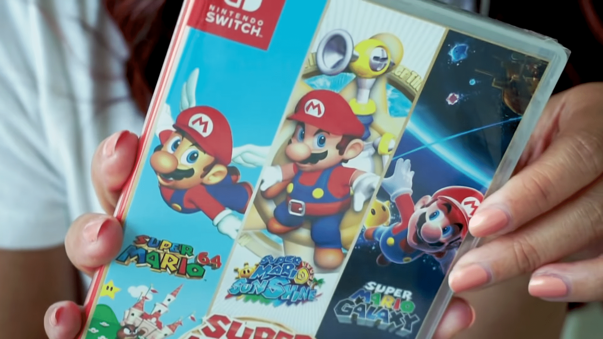 Nintendo Minute – Super Mario 3D All-Stars Physical Release unboxing